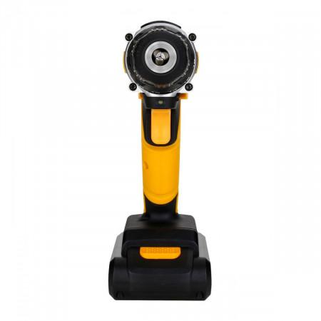 Аккумуляторная дрель-шуруповерт 16В DKCD16FU-Li в кейсе + 63 аксессуара, 32 Н*м, 2х1.5 А*ч, з/у